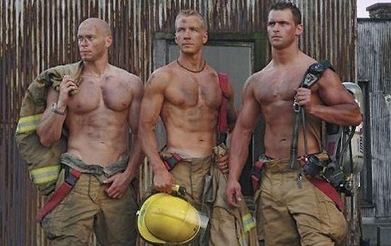 Hot firemen!