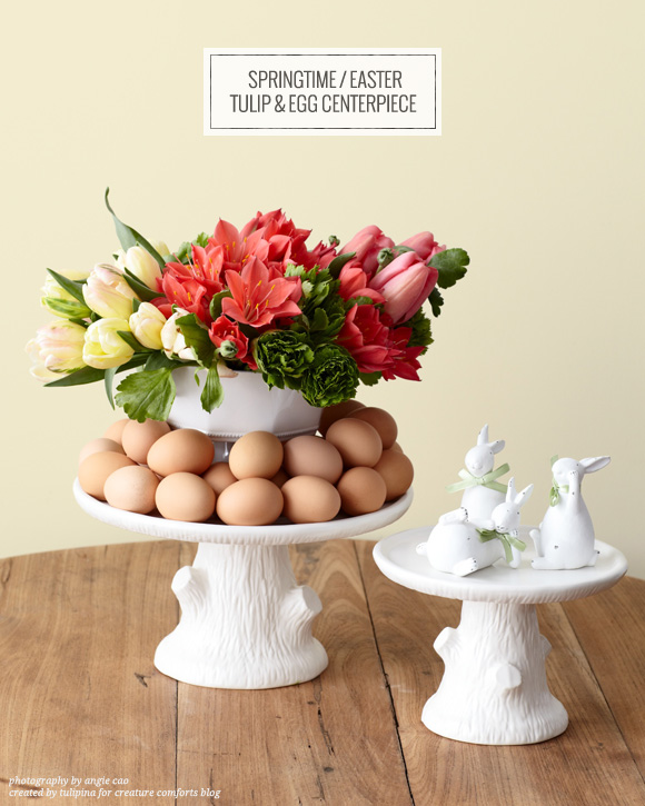 Lovely Easter centrepiece spotted on Creature Comforts.