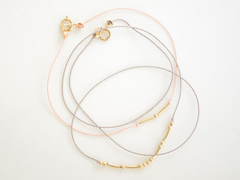Morse code bracelets from Coatt.
