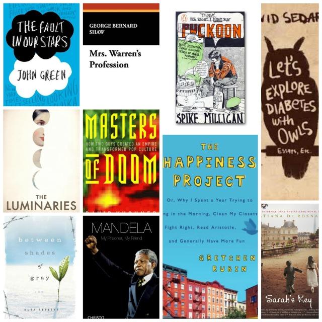 The last 10 books